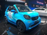 2018日内瓦车展:smart EQ fortwo发布
