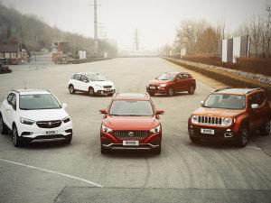 5款小型SUV对比之养车用车成本