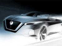 日产新一代Altima设计图 纽约车展首发