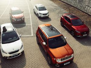 五款小型SUV对比 舒适实用篇