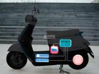 核心电池是亮点 光阳推出Ionex电动摩托