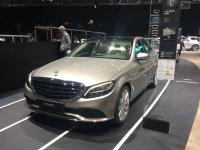新款奔驰C级将9月上市 外观极富科技感