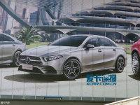 2018北京车展探馆 奔驰新一代A级三厢版