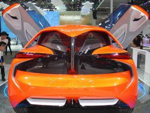 爱卡酸莓奖 北京车展的奇葩车