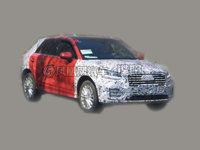 国产版奥迪Q2L实车曝光 明年一季度上市