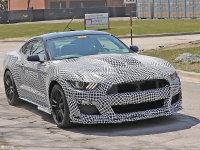 新Mustang Shelby GT500谍照 外观激进