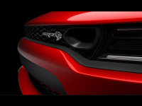 道奇新Charger SRT Hellcat预告图发布