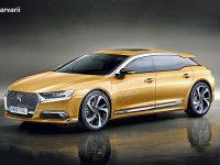 DS 8车型假想图曝光 预计2020年前推出