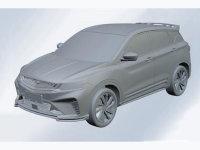吉利SX11或定名星越 BMA乘用车平台打造