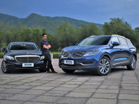 豪华SUV与轿车的抉择 林肯MKX/奔驰E级