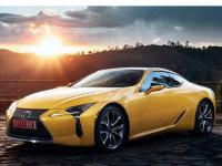雷克萨斯LC黄色特别版 将巴黎车展首发