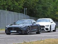奔驰新款AMG GT谍照 2019年下半年发布