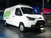 成都车展:江铃全新特顺EV车型正式亮相