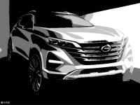 全新传祺GS5草图发布 巴黎车展正式发布