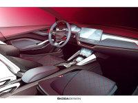 斯柯达VISION RS概念车设计图 造型动感