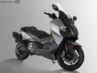 三阳双缸踏板MAXSYM TL 米兰车展发布