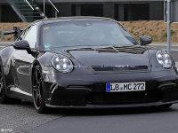 全新保时捷911 GT3路试谍照 或年底亮相