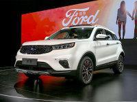 内外更精致 实拍福特全新紧凑SUV—领界