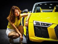 2018广州车展 白富美小姐姐任性选车记