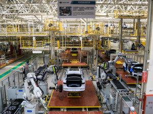 广汽新能源新工厂  即将竣工