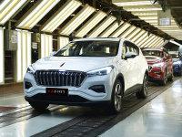 红旗E-HS3正式下线 纯电动SUV/明年上市