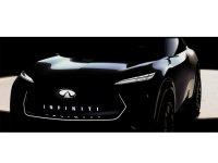 英菲尼迪概念车预告图 将北美车展发布