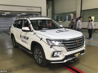 安全担当 上汽荣威RX8获C-NCAP五星佳绩