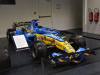 运动回本两开花 参观雷诺经典车博物馆