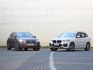 豪华中型SUV:奥迪Q5L&宝马X3