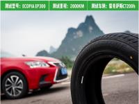 普利司通 EP300荣获年度最佳环保轮胎