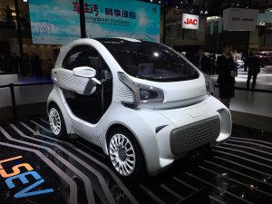 3D打印电动车LSEV将今年上市