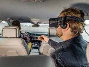奥迪车内VR娱乐系统让乘客高潮