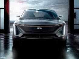 凯迪拉克纯电SUV预告图 有望2021年亮相