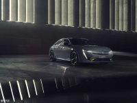 标致508高性能概念车官图 将日内瓦首发
