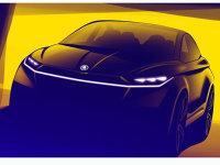 斯柯达VISION iV概念车设计图 3月亮相