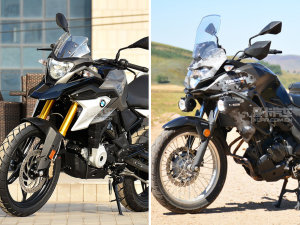 宝马G310GS对川崎Versys-X300