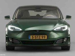 特斯拉Model S猎装版消息 将日内瓦亮相