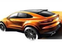 保时捷Cayenne Coupe设计草图 3月亮相