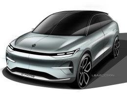 零跑概念车设计图发布 将上海车展亮相
