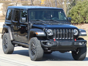 Jeep牧马人PHEV版本谍照曝光
