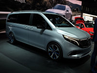 日内瓦车展:奔驰EQV车型正式首发亮相