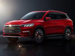 王朝系列全新SUV 比亚迪SA2官图发布