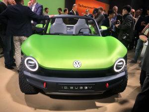 大众全新纯电动沙滩车正式亮相