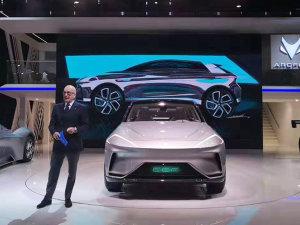 日内瓦车展:ARCFOX首款SUV发布