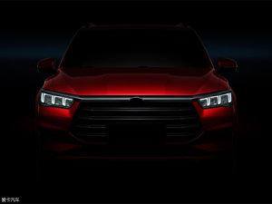 比亚迪全新SUV SA2预告图发布