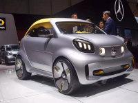日内瓦车展:smart新Forease+正式首发