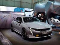 日内瓦车展 标致508高性能概念车亮相