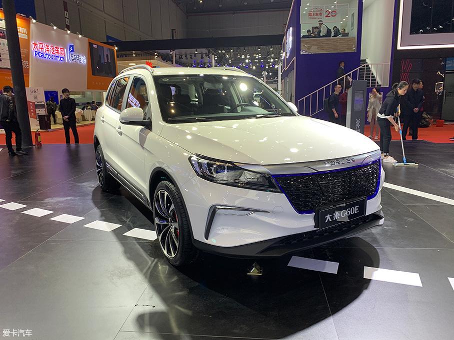 2019上海车展:大乘G60E车型正式上市