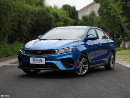 吉利缤瑞新增车型上市 售7.58-7.98万元