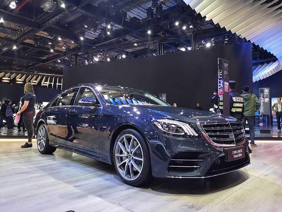 上海车展 奔驰S500L 4MATIC臻藏版发布